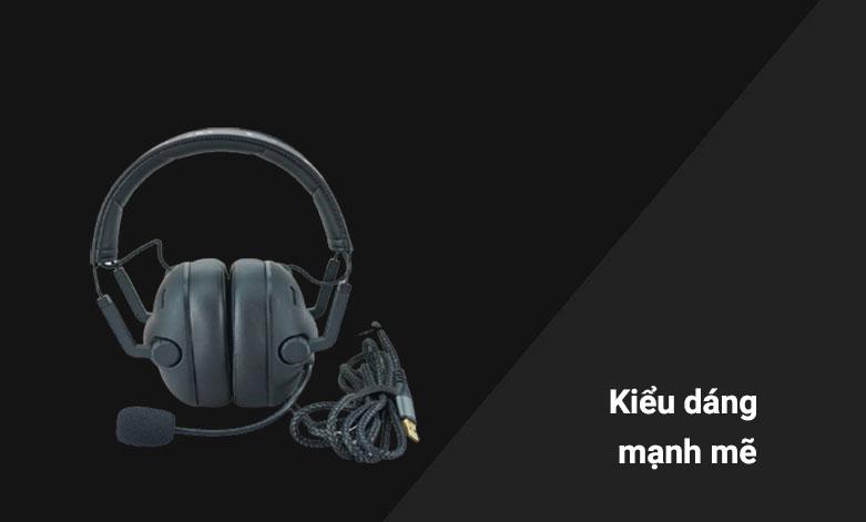 Tai nghe Gaming E-dra EH492 (Đen) | Kiểu dáng mạnh mẽ