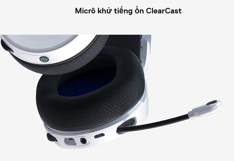 Tai nghe Steelseries Arctis 7P (Trắng) | Micro khử tiếng ồn