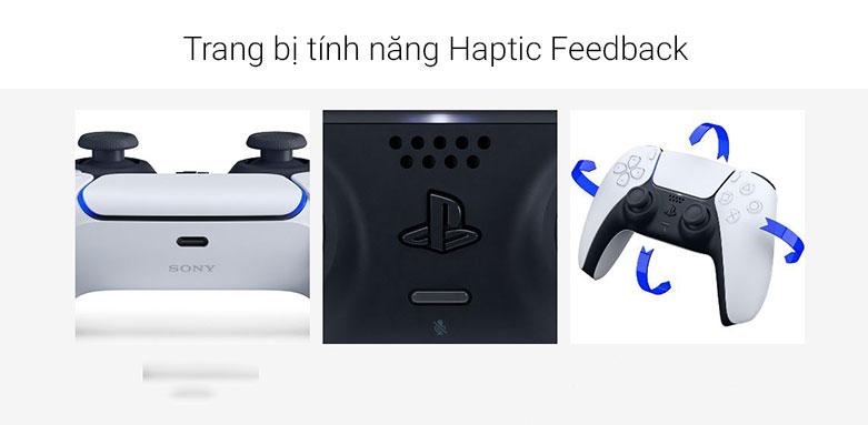 Tay cầm không dây Sony Playstation PS5 DUALSENSE | Tính năng Haptic Feedback