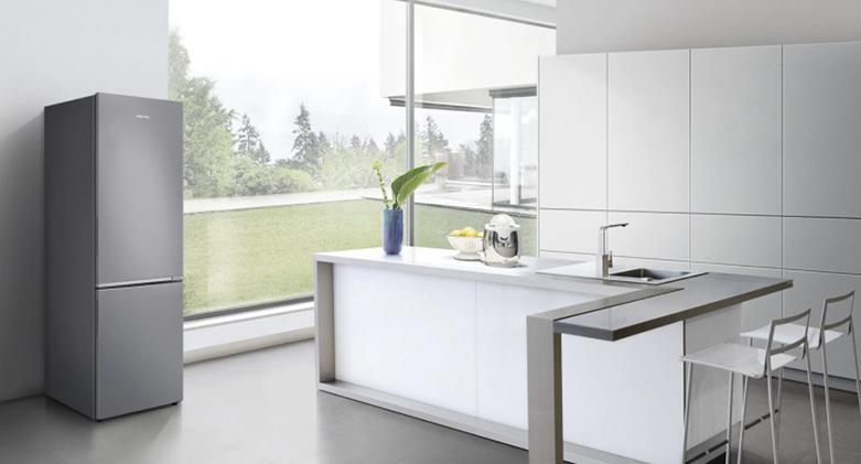 Tủ lạnh Samsung Inverter 280 lít RB27N4010BU/SV | Thiết kế tay nắm ấn tinh tế