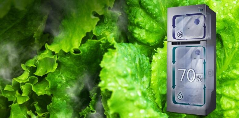 Tủ lạnh Samsung Inverter 299 lít RT29K5012S8/SV   Bảo quản thực phẩm